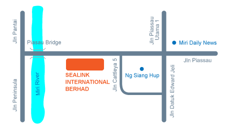Sealink International Berhad location map